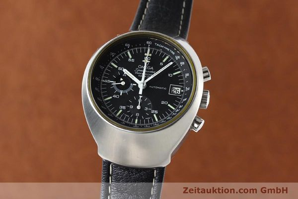 Used luxury watch Omega Speedmaster steel automatic Kal. 1040 Ref. 176002  | 140822 04