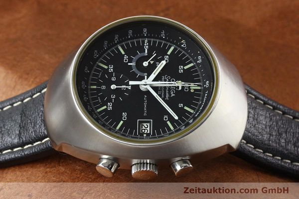 Used luxury watch Omega Speedmaster steel automatic Kal. 1040 Ref. 176002  | 140822 05