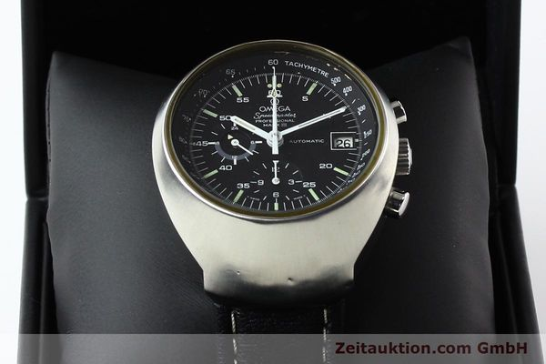 Used luxury watch Omega Speedmaster steel automatic Kal. 1040 Ref. 176002  | 140822 07