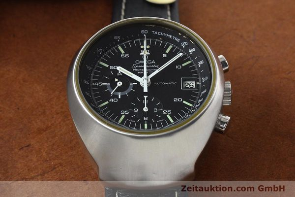 Used luxury watch Omega Speedmaster steel automatic Kal. 1040 Ref. 176002  | 140822 15