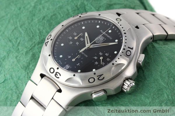 Used luxury watch Tag Heuer Kirium chronograph steel automatic Kal. ETA 2894-2 Ref. CL2110  | 140823 01