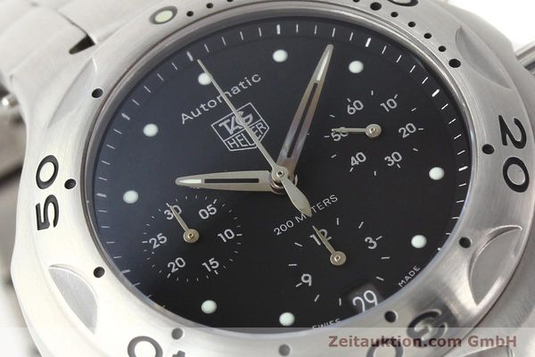 Used luxury watch Tag Heuer Kirium chronograph steel automatic Kal. ETA 2894-2 Ref. CL2110  | 140823 02