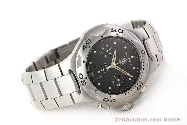 Used luxury watch Tag Heuer Kirium chronograph steel automatic Kal. ETA 2894-2 Ref. CL2110  | 140823 03