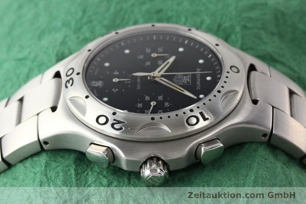 Used luxury watch Tag Heuer Kirium chronograph steel automatic Kal. ETA 2894-2 Ref. CL2110  | 140823 05