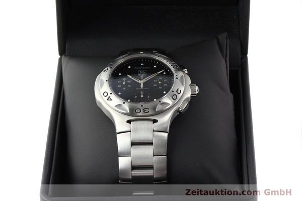 Used luxury watch Tag Heuer Kirium chronograph steel automatic Kal. ETA 2894-2 Ref. CL2110  | 140823 07