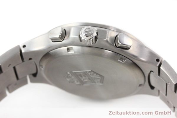 Used luxury watch Tag Heuer Kirium chronograph steel automatic Kal. ETA 2894-2 Ref. CL2110  | 140823 08