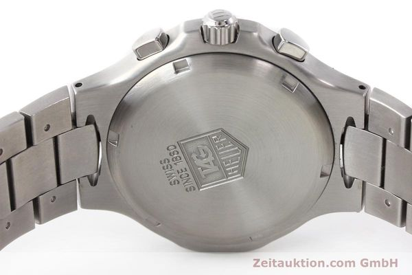 Used luxury watch Tag Heuer Kirium chronograph steel automatic Kal. ETA 2894-2 Ref. CL2110  | 140823 09