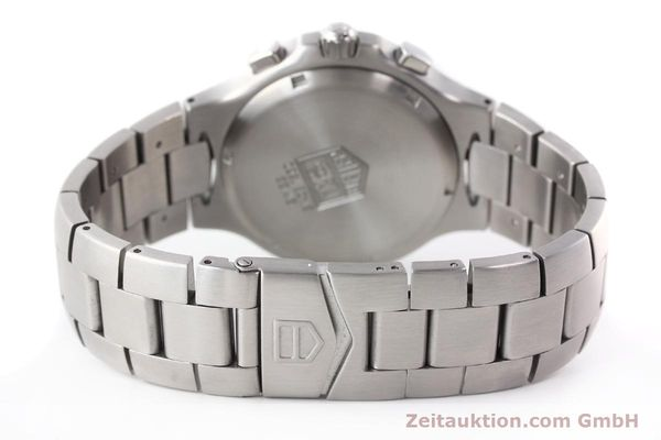 Used luxury watch Tag Heuer Kirium chronograph steel automatic Kal. ETA 2894-2 Ref. CL2110  | 140823 11