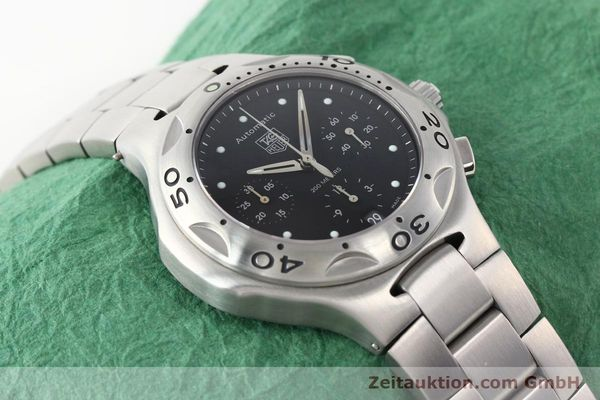 Used luxury watch Tag Heuer Kirium chronograph steel automatic Kal. ETA 2894-2 Ref. CL2110  | 140823 14
