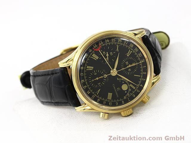 Used luxury watch Chronoswiss * gold-plated automatic Kal. VAL 7750  | 140824 03