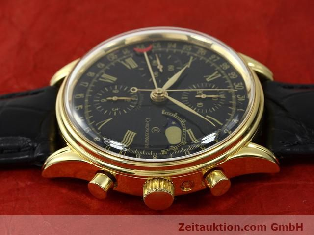 Used luxury watch Chronoswiss * gold-plated automatic Kal. VAL 7750  | 140824 05