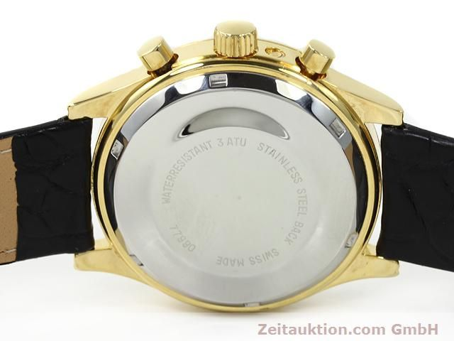 Used luxury watch Chronoswiss * gold-plated automatic Kal. VAL 7750  | 140824 09
