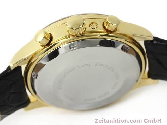 Used luxury watch Chronoswiss * gold-plated automatic Kal. VAL 7750  | 140824 11