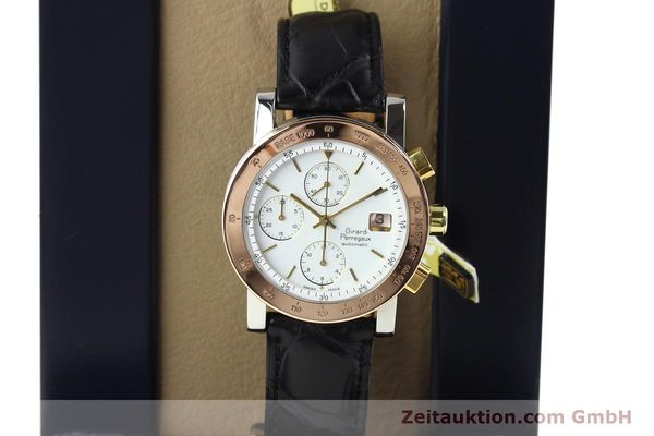 Used luxury watch Girard Perregaux 7000 steel / gold automatic Kal. 800-664 Ref. 7000GBM  | 140826 07