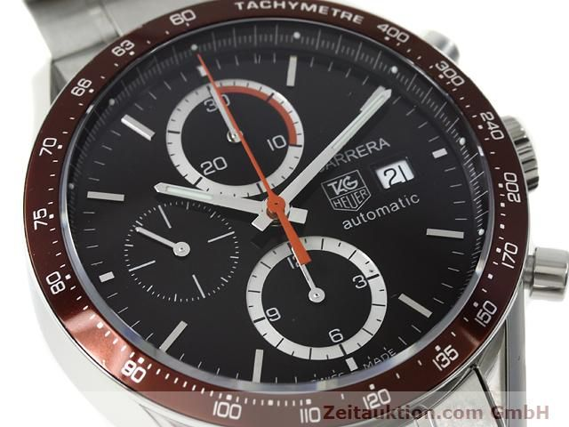 Used luxury watch Tag Heuer Carrera steel automatic Kal. 16 Ref. CV2013-2  | 140827 02