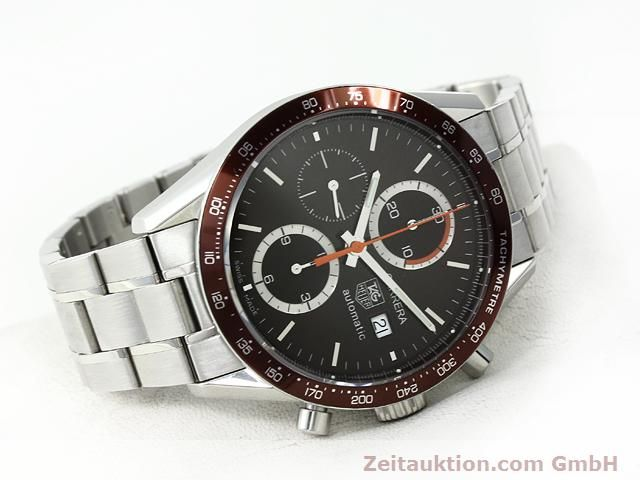 Used luxury watch Tag Heuer Carrera steel automatic Kal. 16 Ref. CV2013-2  | 140827 03