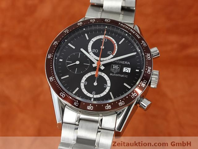 Used luxury watch Tag Heuer Carrera steel automatic Kal. 16 Ref. CV2013-2  | 140827 04