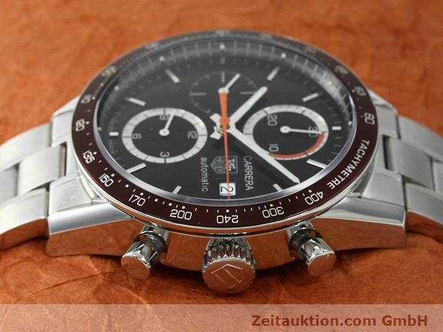Used luxury watch Tag Heuer Carrera steel automatic Kal. 16 Ref. CV2013-2  | 140827 05