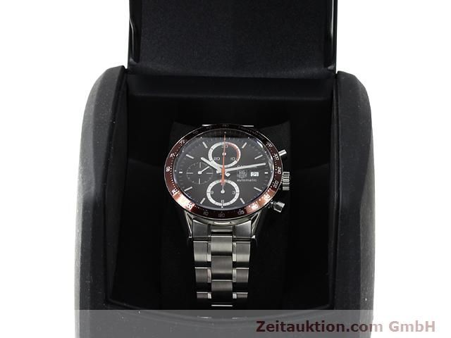 Used luxury watch Tag Heuer Carrera steel automatic Kal. 16 Ref. CV2013-2  | 140827 07