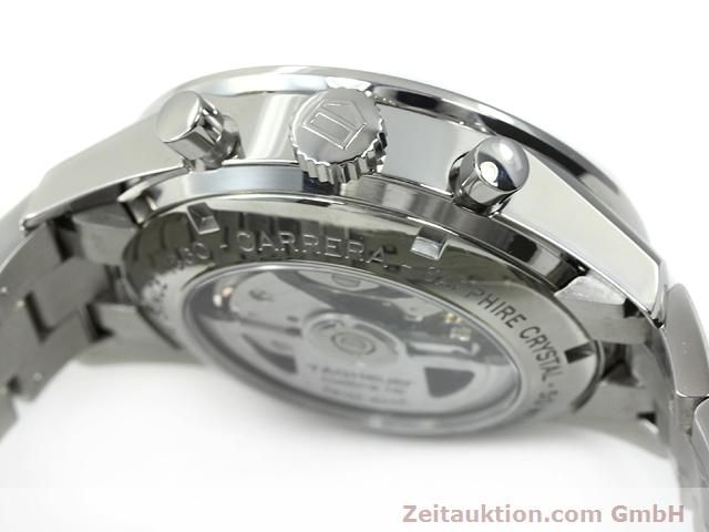 Used luxury watch Tag Heuer Carrera steel automatic Kal. 16 Ref. CV2013-2  | 140827 08