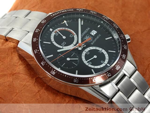 Used luxury watch Tag Heuer Carrera steel automatic Kal. 16 Ref. CV2013-2  | 140827 13