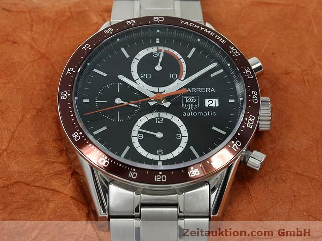 Used luxury watch Tag Heuer Carrera steel automatic Kal. 16 Ref. CV2013-2  | 140827 14
