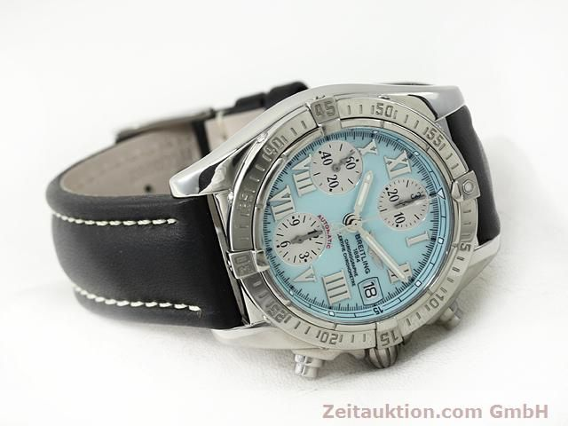 Used luxury watch Breitling Chronomat steel automatic Kal. ETA 7750 Ref. A13358  | 140836 03