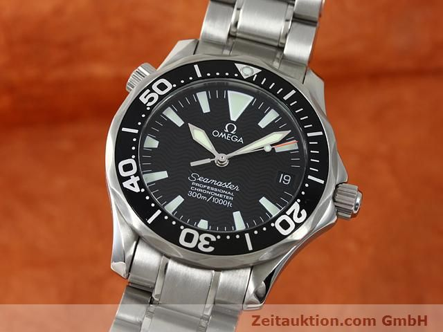 Used luxury watch Omega Seamaster steel automatic Kal. 1120  | 140840 04