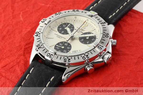 Used luxury watch Breitling Colt steel quartz Kal. B53 Ref. A53035  | 140841 01
