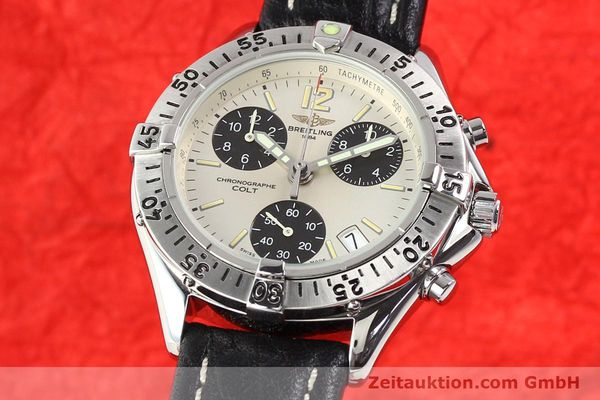 Used luxury watch Breitling Colt steel quartz Kal. B53 Ref. A53035  | 140841 04