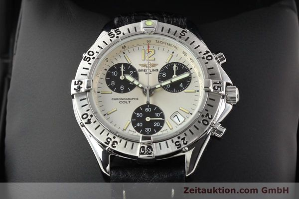 Used luxury watch Breitling Colt steel quartz Kal. B53 Ref. A53035  | 140841 07