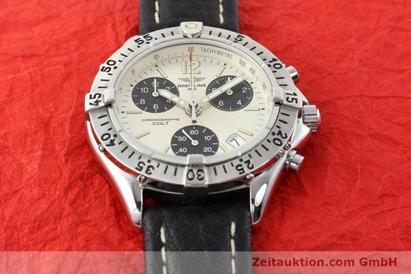 Used luxury watch Breitling Colt steel quartz Kal. B53 Ref. A53035  | 140841 12