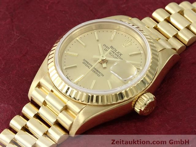 montre de luxe d occasion Rolex Lady Datejust or 18 ct automatique Kal. 2135 Ref. 69178  | 140842 01