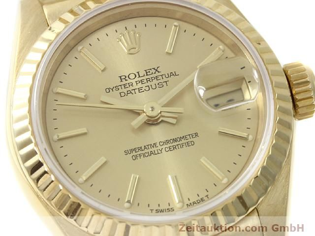 montre de luxe d occasion Rolex Lady Datejust or 18 ct automatique Kal. 2135 Ref. 69178  | 140842 02