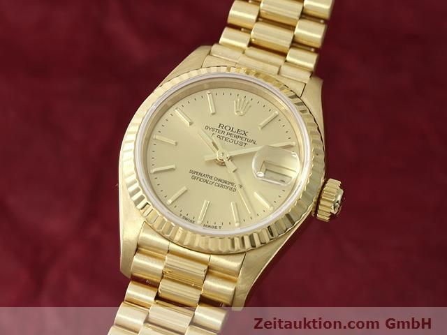 montre de luxe d occasion Rolex Lady Datejust or 18 ct automatique Kal. 2135 Ref. 69178  | 140842 04