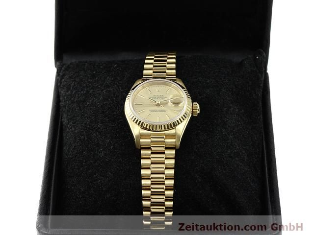 montre de luxe d occasion Rolex Lady Datejust or 18 ct automatique Kal. 2135 Ref. 69178  | 140842 07