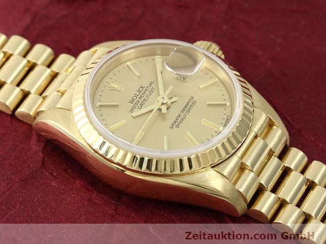 montre de luxe d occasion Rolex Lady Datejust or 18 ct automatique Kal. 2135 Ref. 69178  | 140842 15