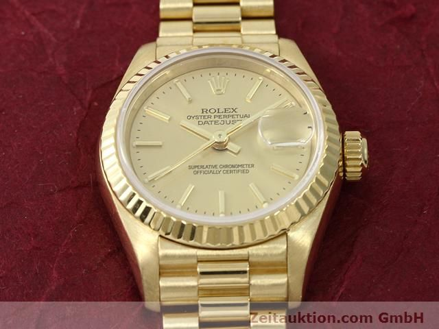 montre de luxe d occasion Rolex Lady Datejust or 18 ct automatique Kal. 2135 Ref. 69178  | 140842 16