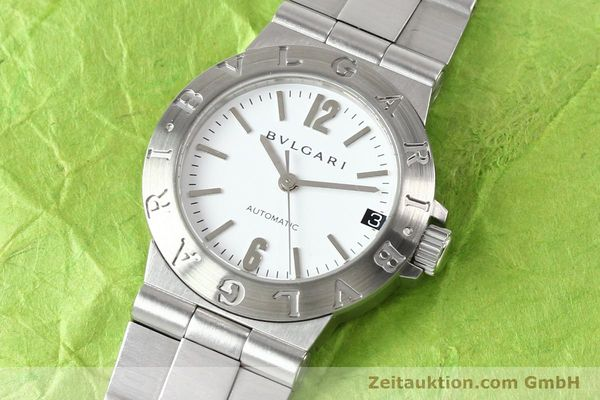 Used luxury watch Bvlgari Diagono steel automatic Kal. 3002 Ref. LCV29S  | 140843 01