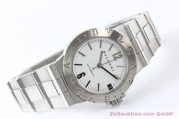 Used luxury watch Bvlgari Diagono steel automatic Kal. 3002 Ref. LCV29S  | 140843 03