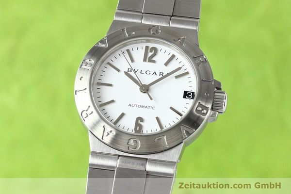 Used luxury watch Bvlgari Diagono steel automatic Kal. 3002 Ref. LCV29S  | 140843 04