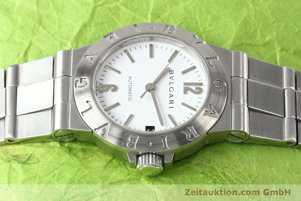 Used luxury watch Bvlgari Diagono steel automatic Kal. 3002 Ref. LCV29S  | 140843 05