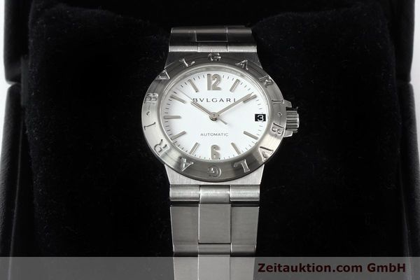 Used luxury watch Bvlgari Diagono steel automatic Kal. 3002 Ref. LCV29S  | 140843 07