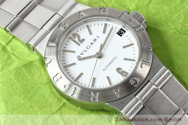 Used luxury watch Bvlgari Diagono steel automatic Kal. 3002 Ref. LCV29S  | 140843 13