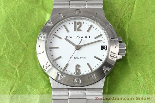 Used luxury watch Bvlgari Diagono steel automatic Kal. 3002 Ref. LCV29S  | 140843 14
