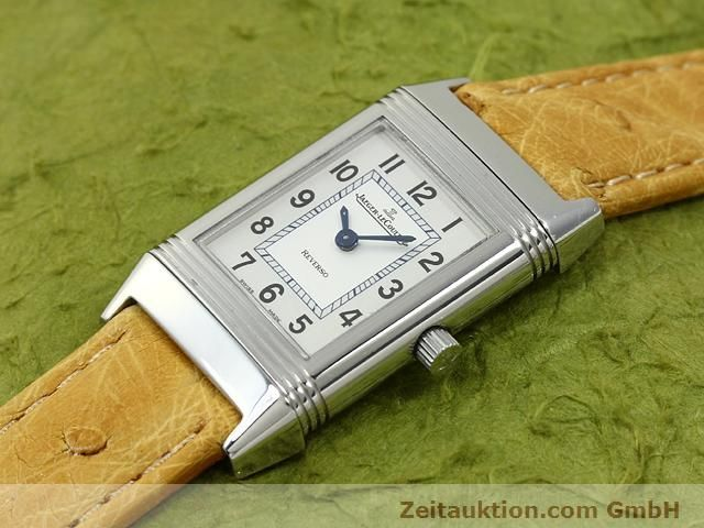 Used luxury watch Jaeger Le Coultre Reverso steel quartz Kal. 657 Ref. 260.8.47  | 140844 01