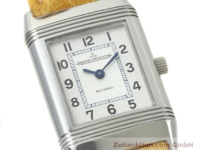 Used luxury watch Jaeger Le Coultre Reverso steel quartz Kal. 657 Ref. 260.8.47  | 140844 02