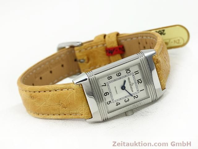 Used luxury watch Jaeger Le Coultre Reverso steel quartz Kal. 657 Ref. 260.8.47  | 140844 03