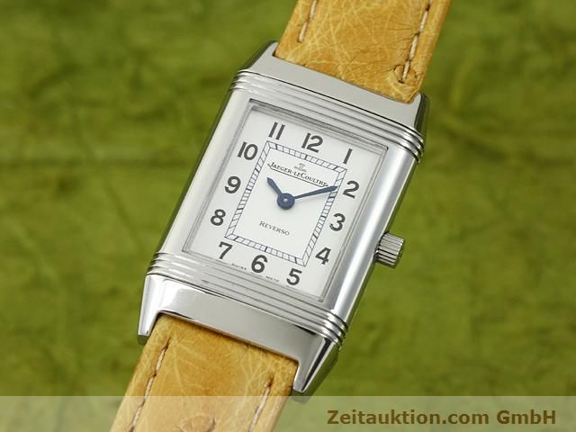 Used luxury watch Jaeger Le Coultre Reverso steel quartz Kal. 657 Ref. 260.8.47  | 140844 04