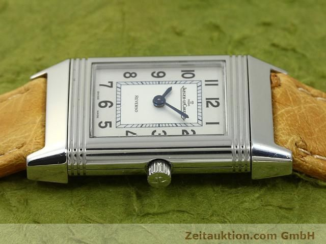 Used luxury watch Jaeger Le Coultre Reverso steel quartz Kal. 657 Ref. 260.8.47  | 140844 05